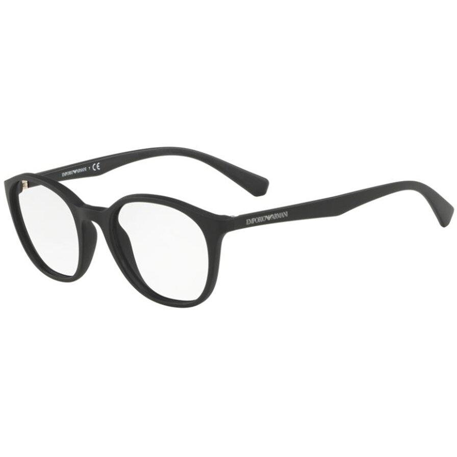 Rame ochelari de vedere dama Emporio Armani EA3079 5042 Rotunde originale cu comanda online