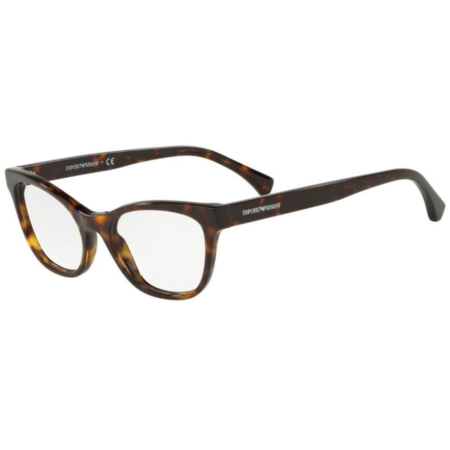 Rame ochelari de vedere dama Emporio Armani EA3142 5089 Ochi de pisica originale cu comanda online