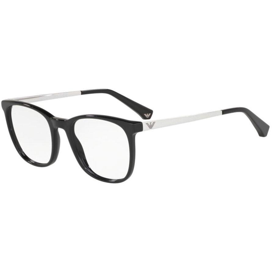 Rame ochelari de vedere dama Emporio Armani EA3153 5017 Patrate originale cu comanda online