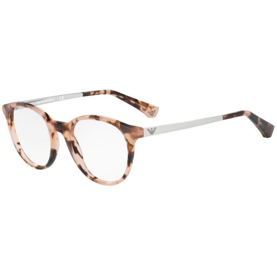 Rame ochelari de vedere dama Emporio Armani EA3154 5766 Rotunde originale cu comanda online