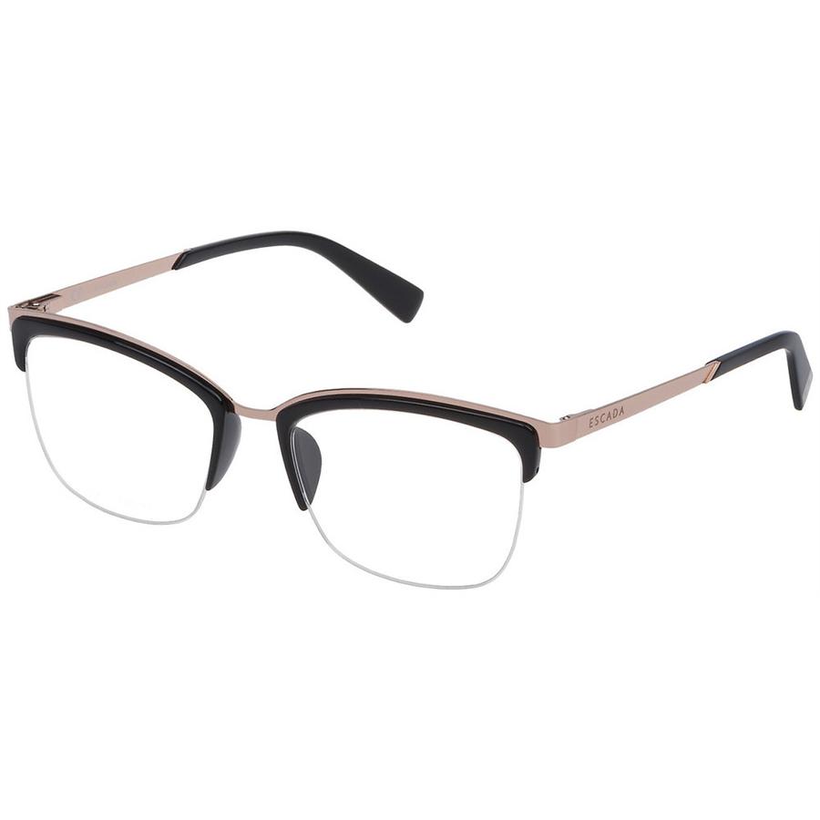 Rame ochelari de vedere dama Escada VES944 0Z42 Browline originale cu comanda online