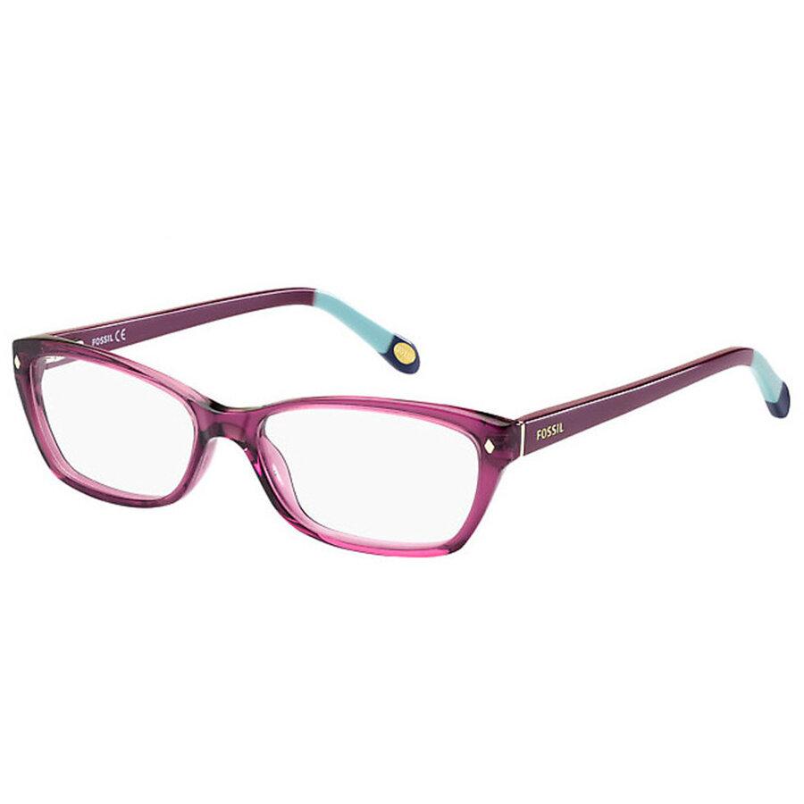Rame ochelari de vedere dama FOS 6023 GV5 Rectangulare originale cu comanda online