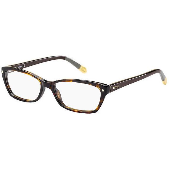 Rame ochelari de vedere dama FOSSIL FOS 6023 GVL Rectangulare originale cu comanda online
