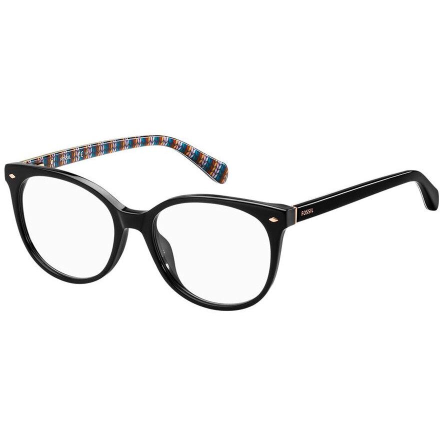 Rame ochelari de vedere dama FOSSIL FOS 7039 807 Rotunde originale cu comanda online