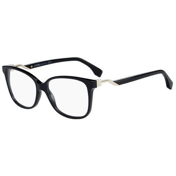 Rame ochelari de vedere dama Fendi FF 0232 807 Patrate originale cu comanda online