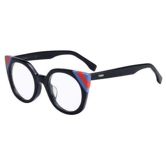 Rame ochelari de vedere dama Fendi FF 0246 PJP Ochi de pisica originale cu comanda online