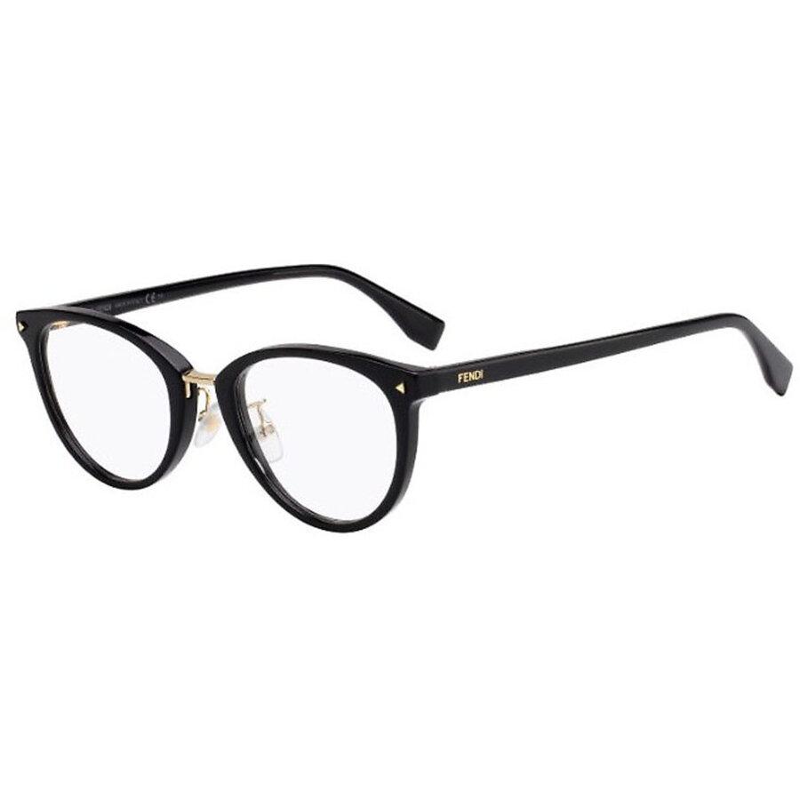 Rame ochelari de vedere dama Fendi FF 0367/G 807 Rotunde originale cu comanda online