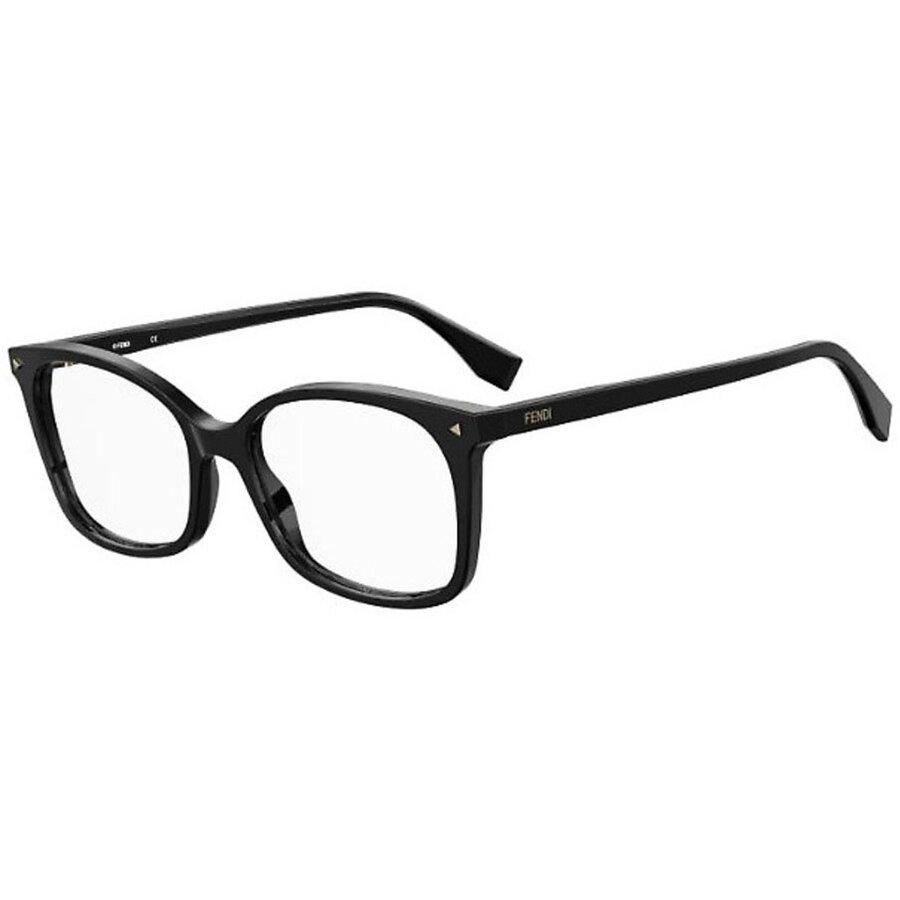 Rame ochelari de vedere dama Fendi FF 0414 807 Patrate originale cu comanda online
