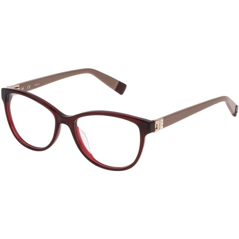 Rame ochelari de vedere dama Furla VFU002S-0954 Ovale originale cu comanda online