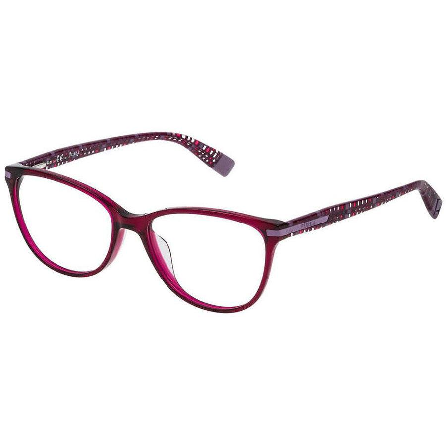 Rame ochelari de vedere dama Furla VFU080-0AFD Ochi de pisica originale cu comanda online