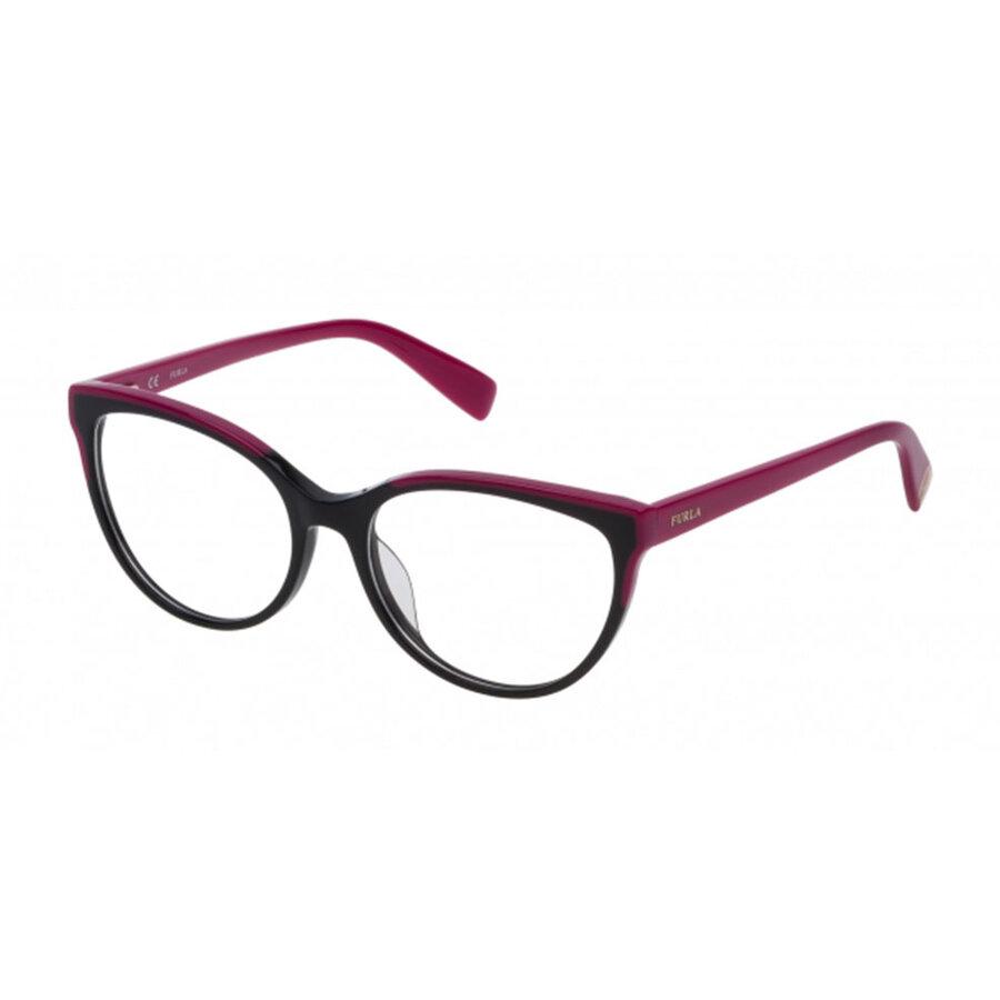 Rame ochelari de vedere dama Furla VFU131 0700 Ochi de pisica originale cu comanda online