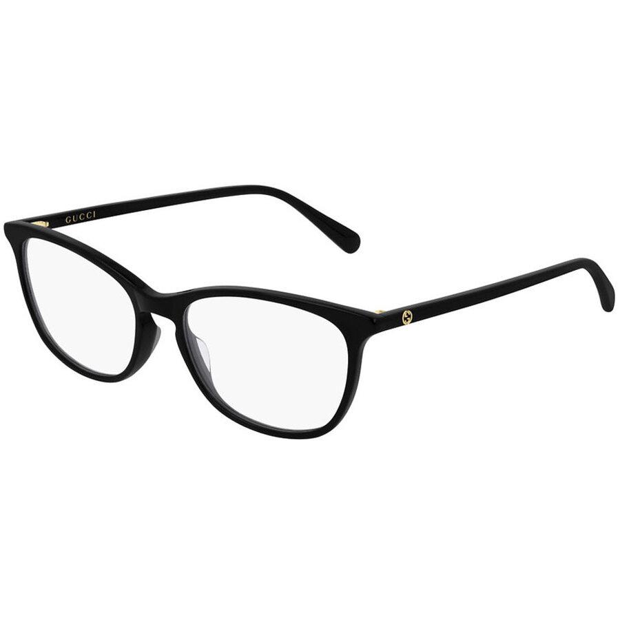 Rame ochelari de vedere dama Gucci GG0549O 001 Rectangulare originale cu comanda online