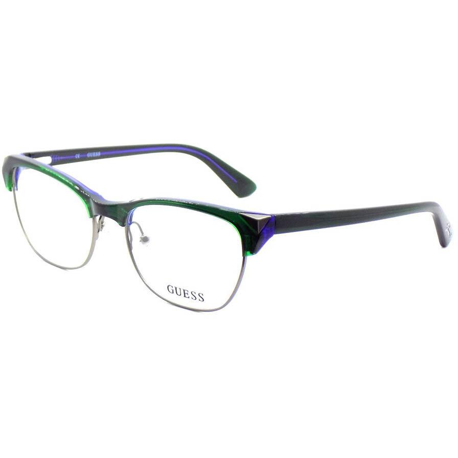 Rame ochelari de vedere dama Guess GU2493 098 Rotunde originale cu comanda online
