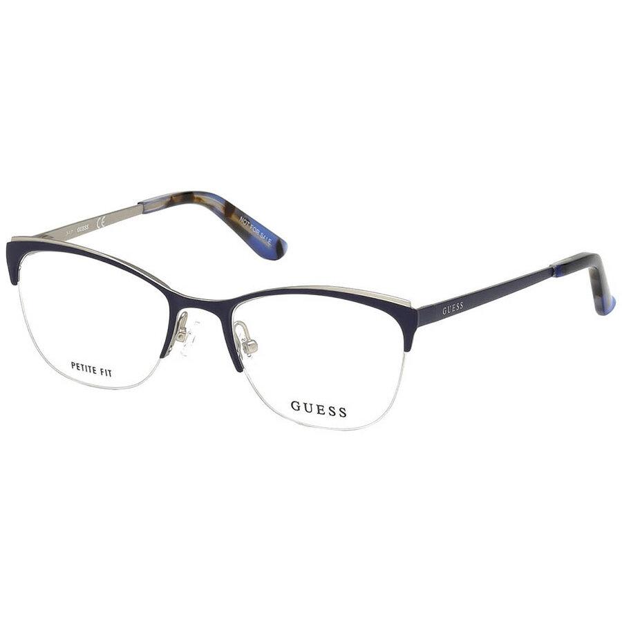 Rame ochelari de vedere dama Guess GU2642 091 Ochi de pisica originale cu comanda online