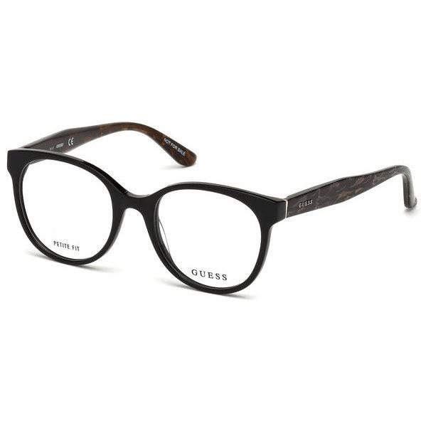 Rame ochelari de vedere dama Guess GU2646 001 Ovale originale cu comanda online