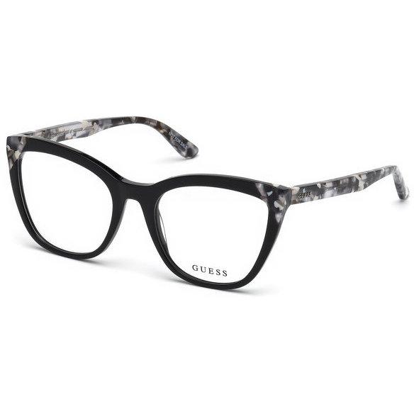 Rame ochelari de vedere dama Guess GU2674 001 Ochi de pisica originale cu comanda online