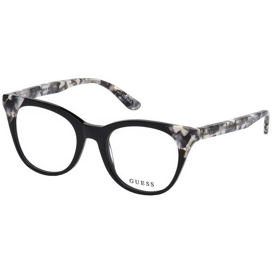 Rame ochelari de vedere dama Guess GU2675 001 Patrate originale cu comanda online