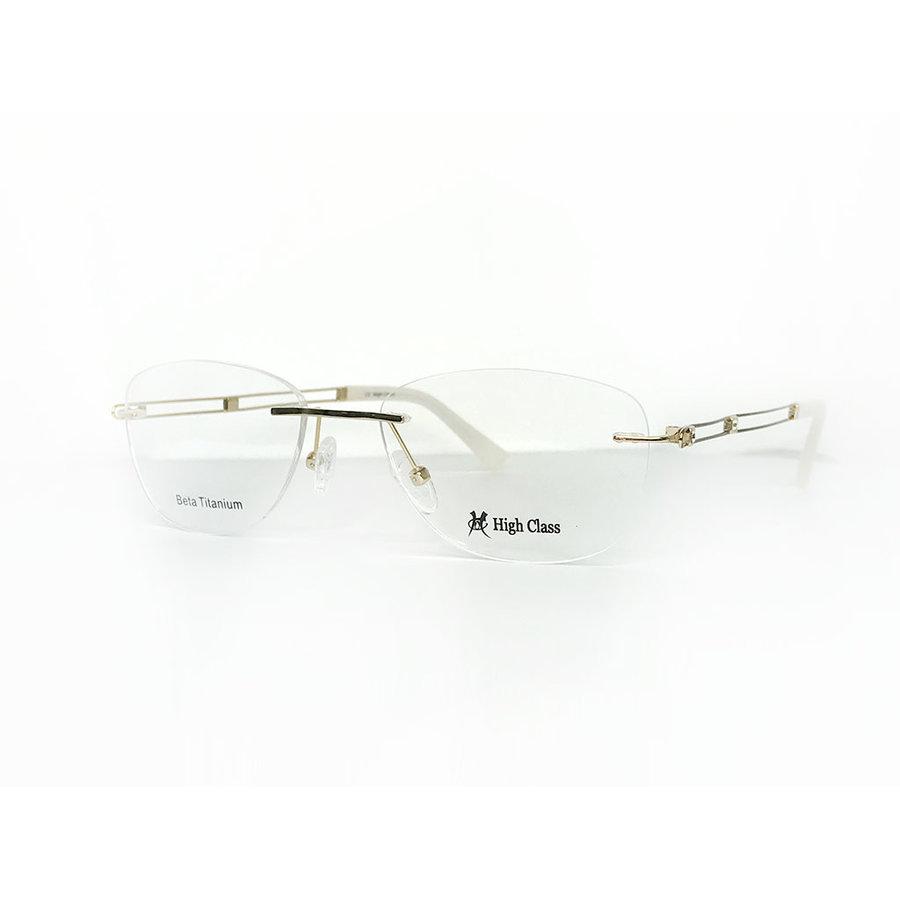 Rame ochelari de vedere dama HIGH CLASS HC6411 C1 Ovale originale cu comanda online