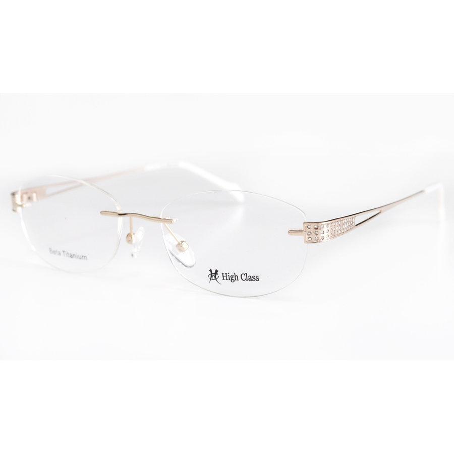 Rame ochelari de vedere dama HIGH CLASS HC6414 C2 Ovale originale cu comanda online
