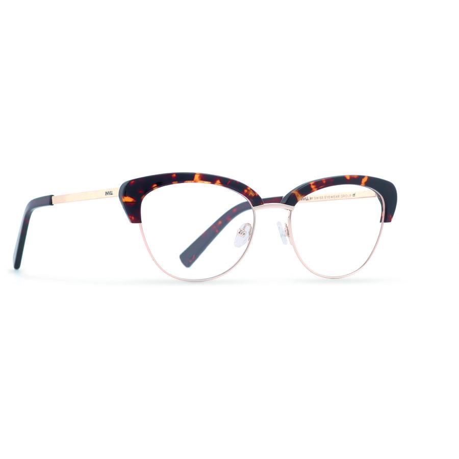 Rame ochelari de vedere dama INVU B3803B Browline originale cu comanda online