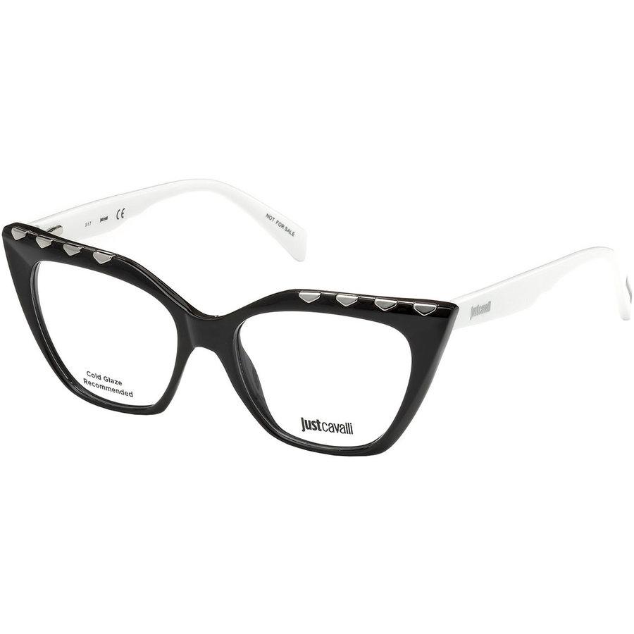 Rame ochelari de vedere dama Just Cavalli JC0811 A01 Ochi de pisica originale cu comanda online