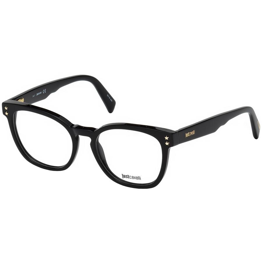 Rame ochelari de vedere dama Just Cavalli JC0846 001 Patrate originale cu comanda online