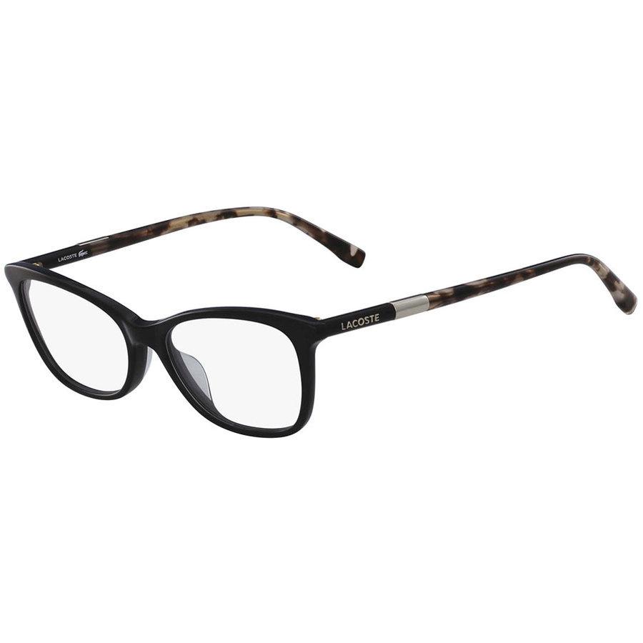 Rame ochelari de vedere dama Lacoste L2791 001 Rectangulare originale cu comanda online