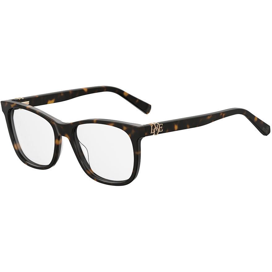 Rame ochelari de vedere dama MOSCHINO LOVE MOL520 086 Patrate originale cu comanda online