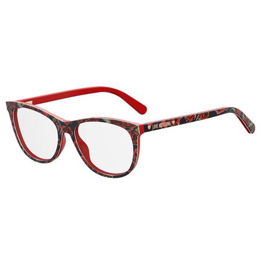 Rame ochelari de vedere dama MOSCHINO LOVE MOL524 0PA Ovale originale cu comanda online