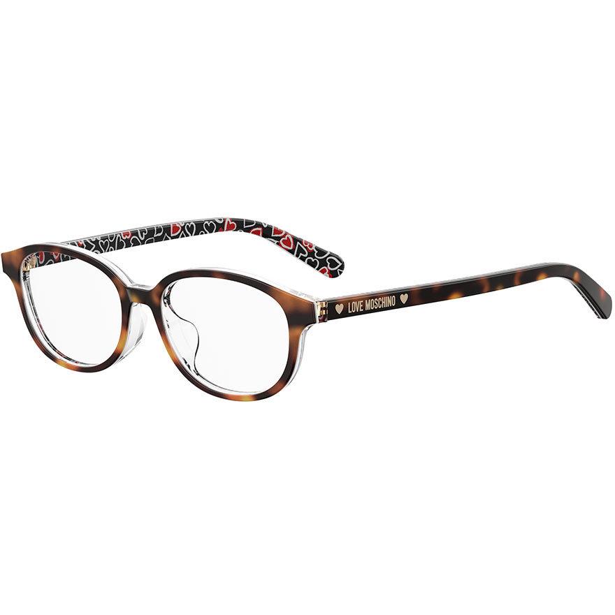 Rame ochelari de vedere dama MOSCHINO LOVE MOL541 2VM Ovale originale cu comanda online