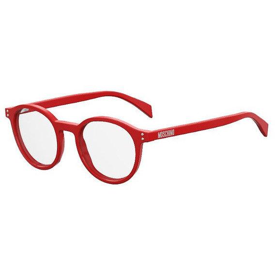 Rame ochelari de vedere dama MOSCHINO MOS502 C9A Rotunde originale cu comanda online