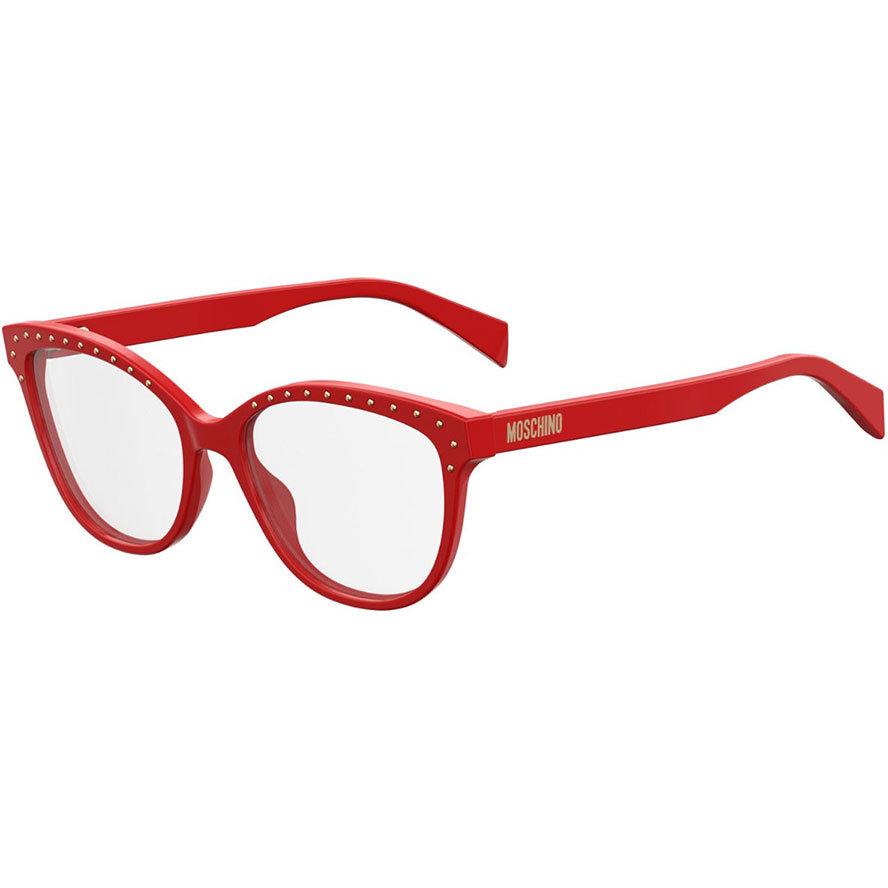 Rame ochelari de vedere dama MOSCHINO MOS506 C9A Ochi de pisica originale cu comanda online