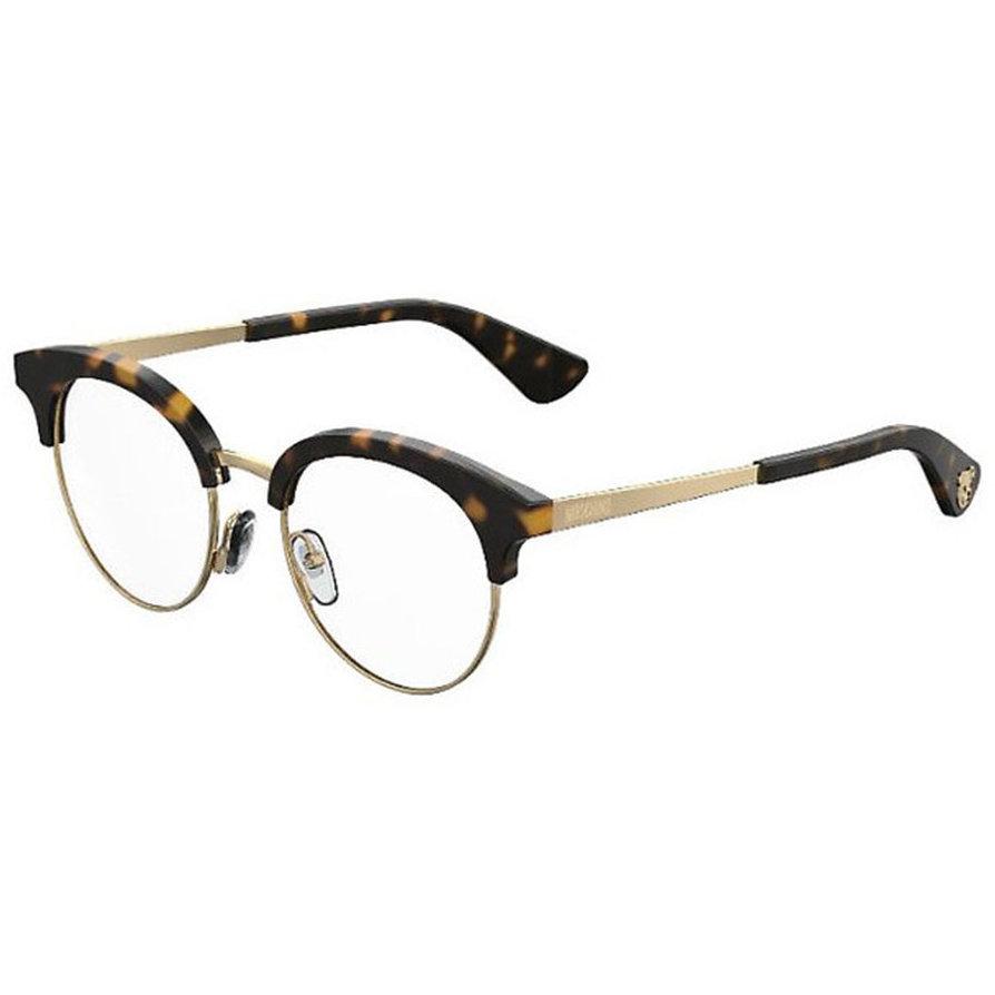 Rame ochelari de vedere dama MOSCHINO MOS514 086 Browline originale cu comanda online