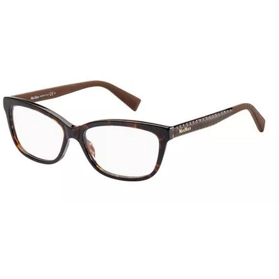 Rame ochelari de vedere dama Max Mara MM 1198 8WM Patrate originale cu comanda online