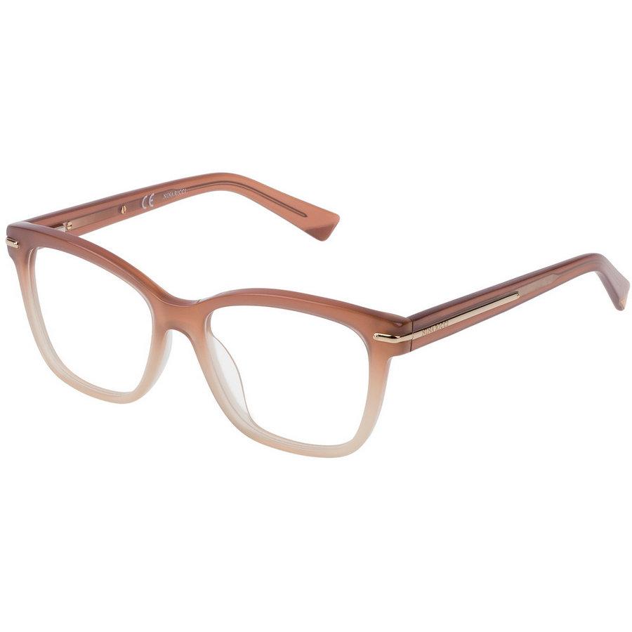 Rame ochelari de vedere dama Nina Ricci VNR017 09WQ Rectangulare originale cu comanda online