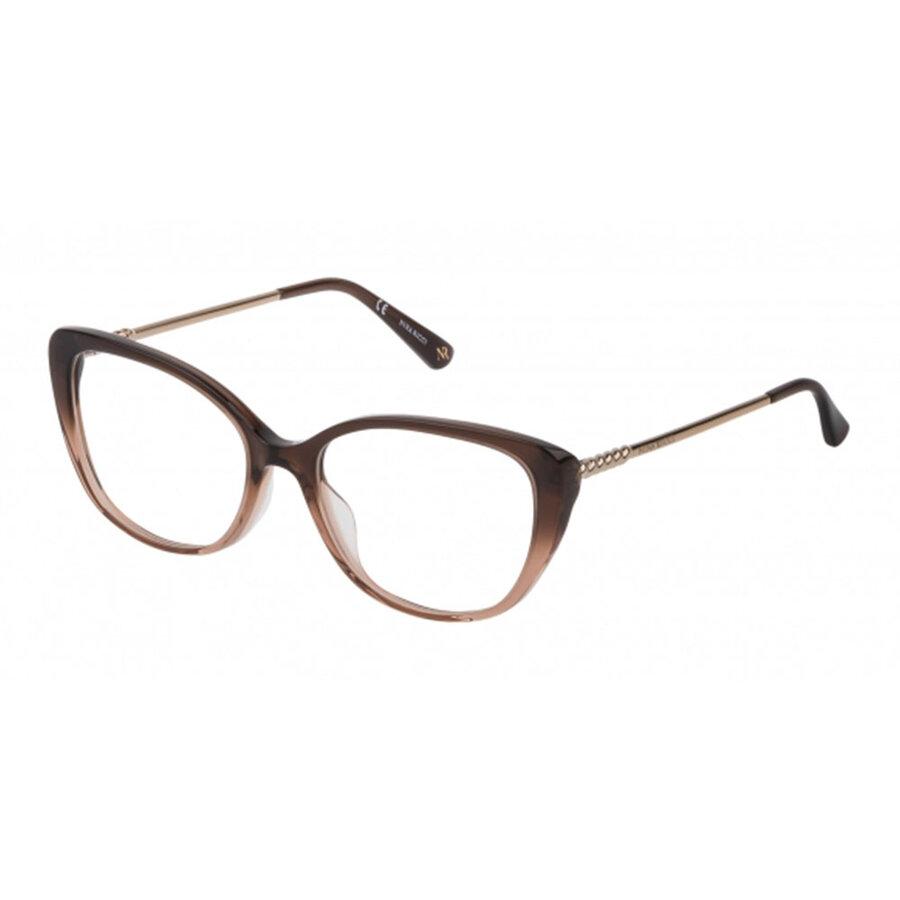 Rame ochelari de vedere dama Nina Ricci VNR173 0N66 Ochi de pisica originale cu comanda online