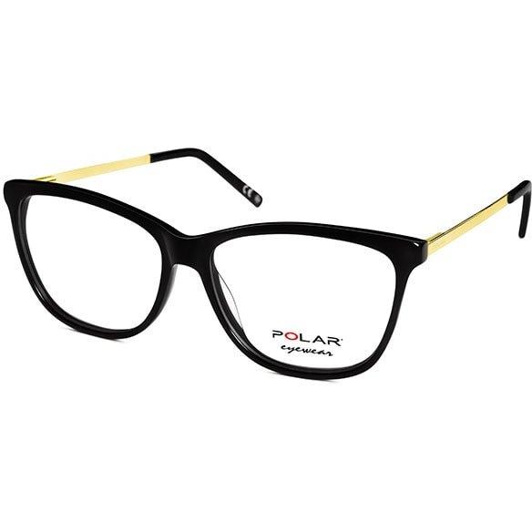 Rame ochelari de vedere dama Polar 992 | 77/GOLD Rectangulare originale cu comanda online