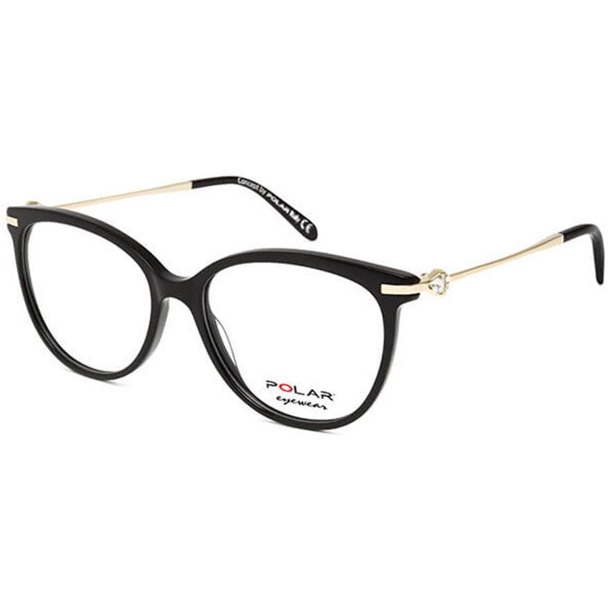 Rame ochelari de vedere dama Polar Crystal 05 | 77 Rotunde originale cu comanda online