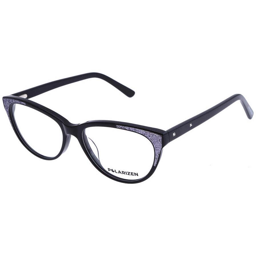 Rame ochelari de vedere dama Polarizen 17215 C1 Ochi de pisica originale cu comanda online