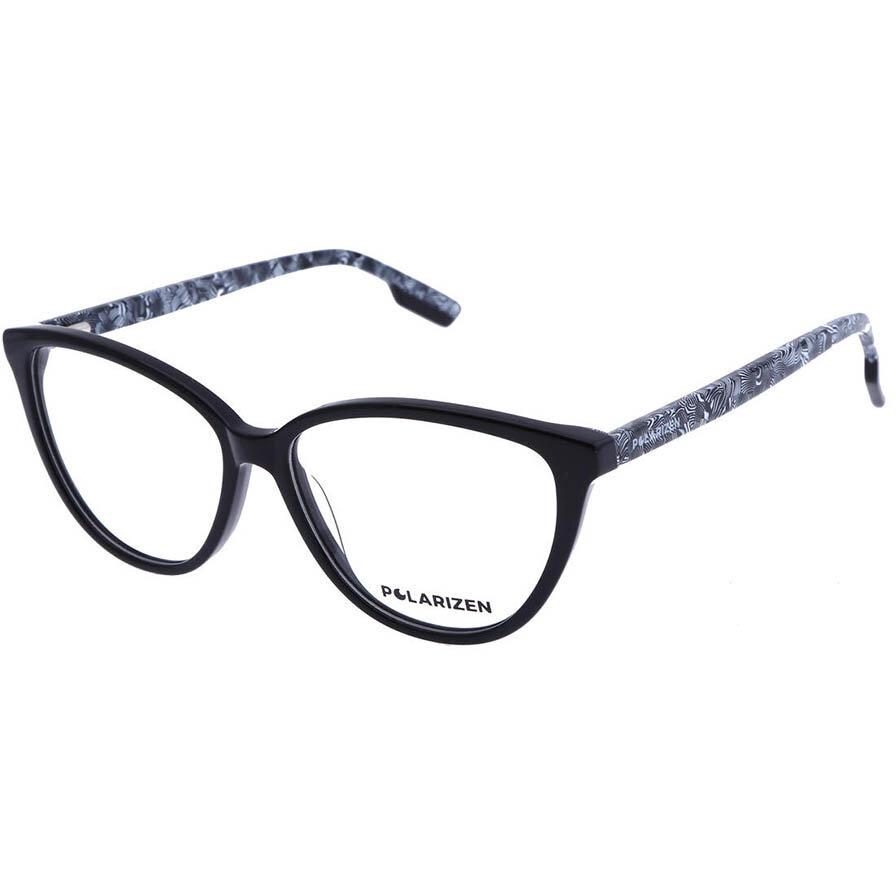 Rame ochelari de vedere dama Polarizen 17324 C1 Ochi de pisica originale cu comanda online