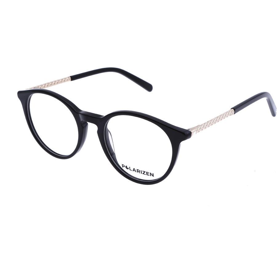 Rame ochelari de vedere dama Polarizen 17341 C1 Rotunde originale cu comanda online