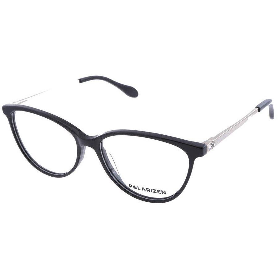 Rame ochelari de vedere dama Polarizen 17344 C1 Ovale originale cu comanda online