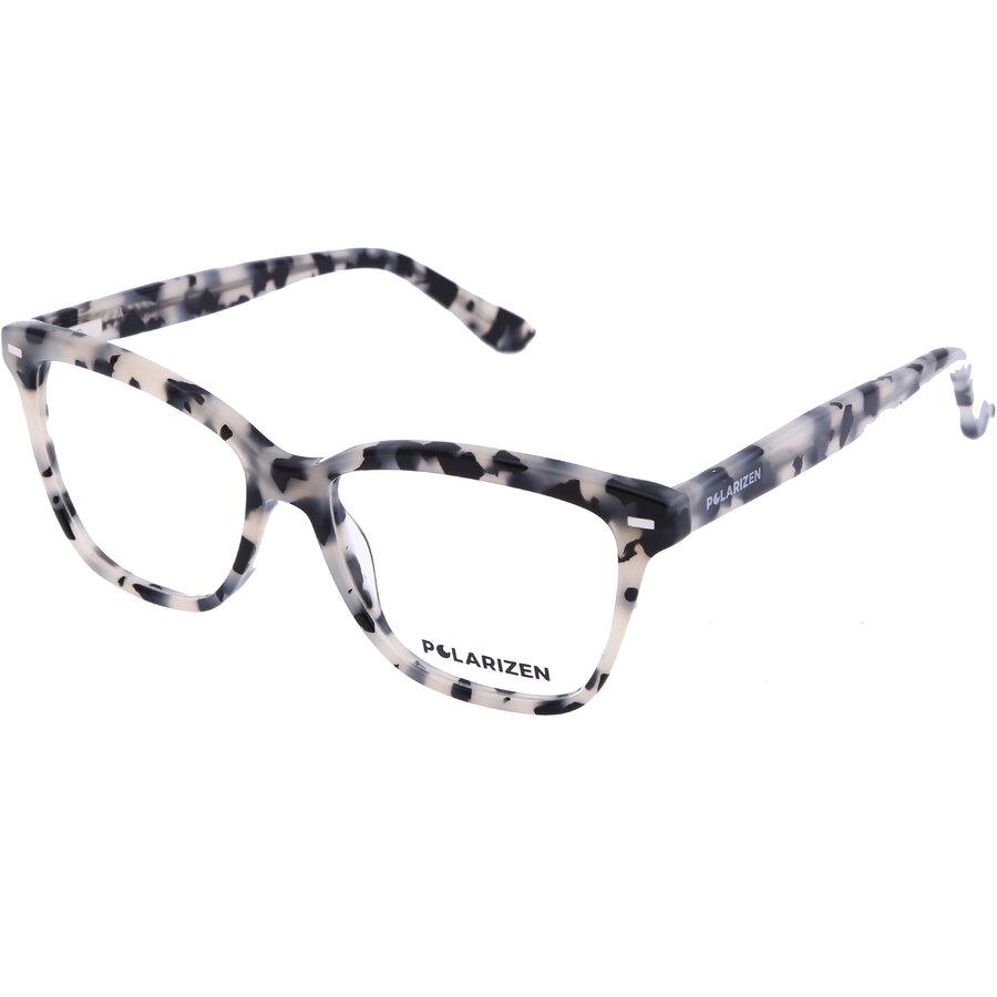 Rame ochelari de vedere dama Polarizen 17485 C3 Rectangulare originale cu comanda online