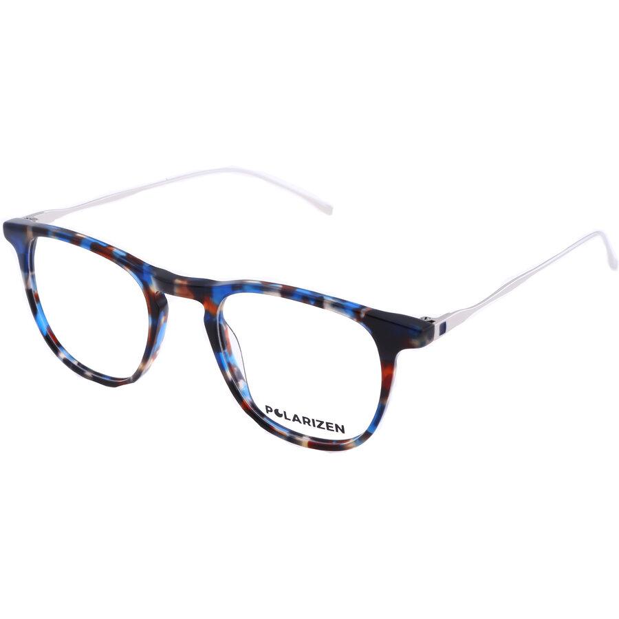 Rame ochelari de vedere dama Polarizen 17489 C2 Patrate originale cu comanda online