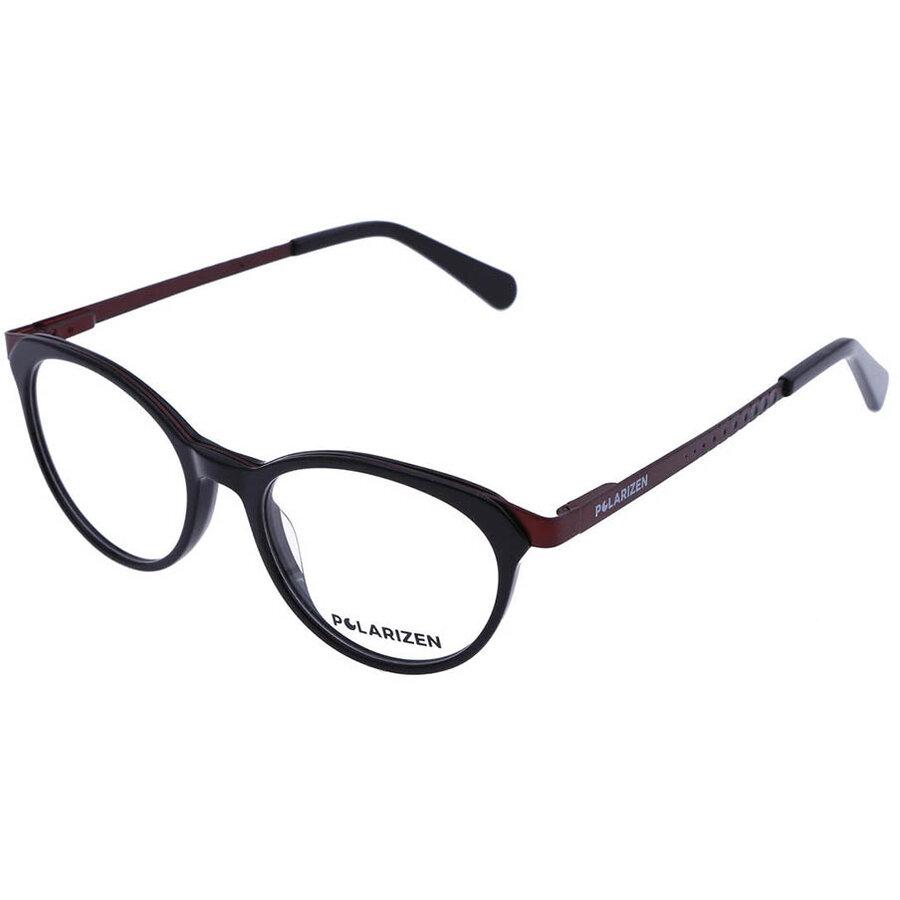 Rame ochelari de vedere dama Polarizen 17491 C1 Ovale originale cu comanda online