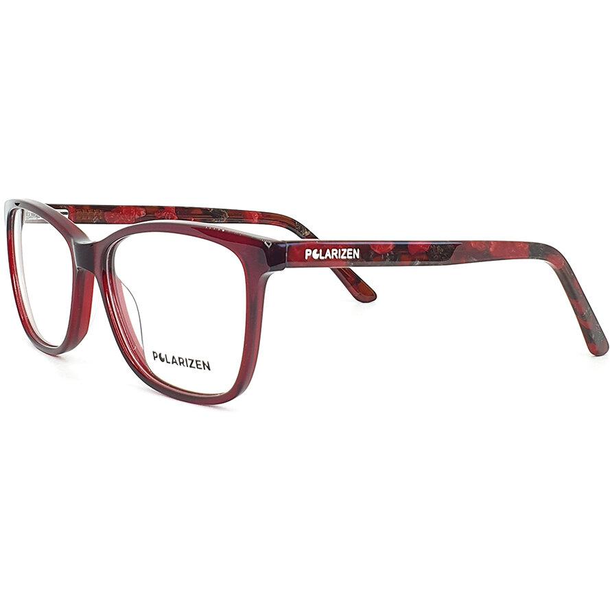 Rame ochelari de vedere dama Polarizen WD1008 C3 Rectangulare originale cu comanda online