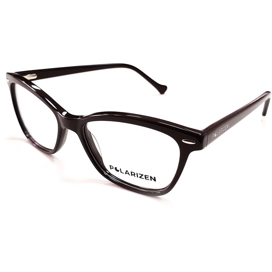 Rame ochelari de vedere dama Polarizen WD1055-C7 Ochi de pisica originale cu comanda online