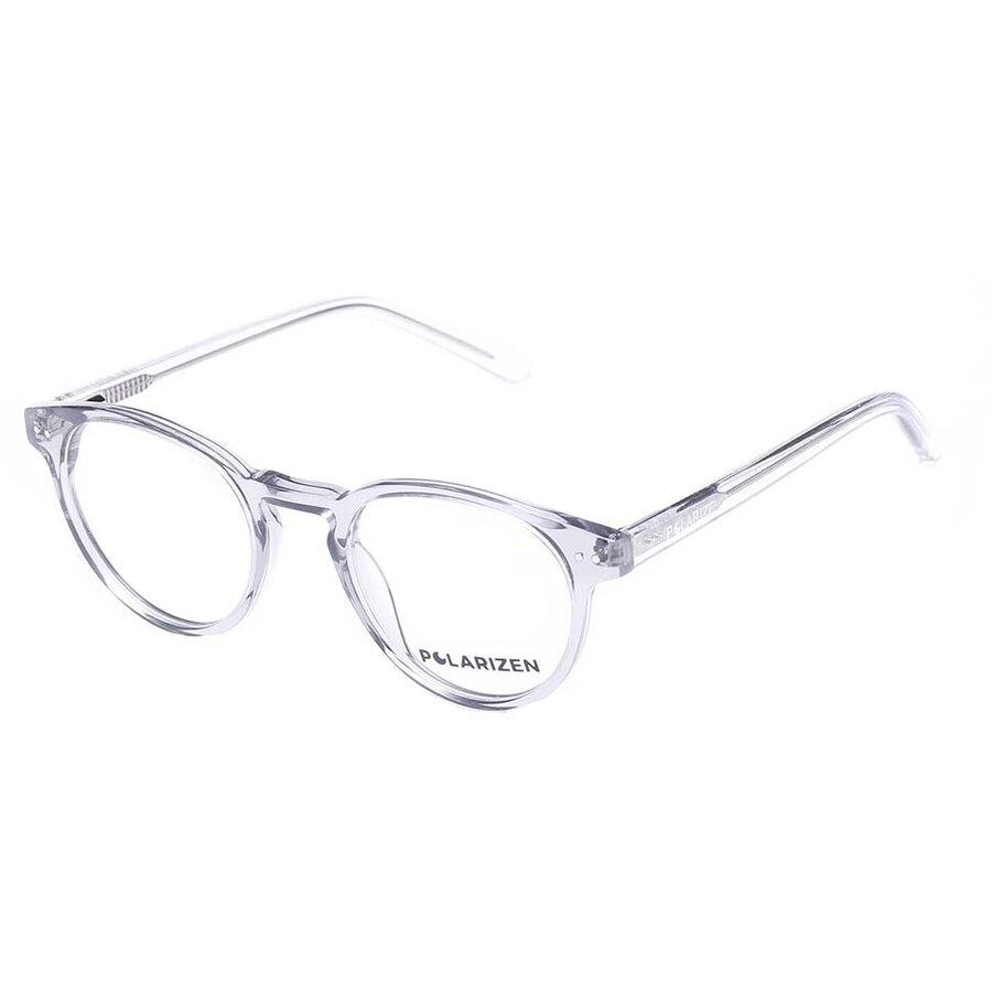 Rame ochelari de vedere dama Polarizen WD1063 C4 Rotunde originale cu comanda online