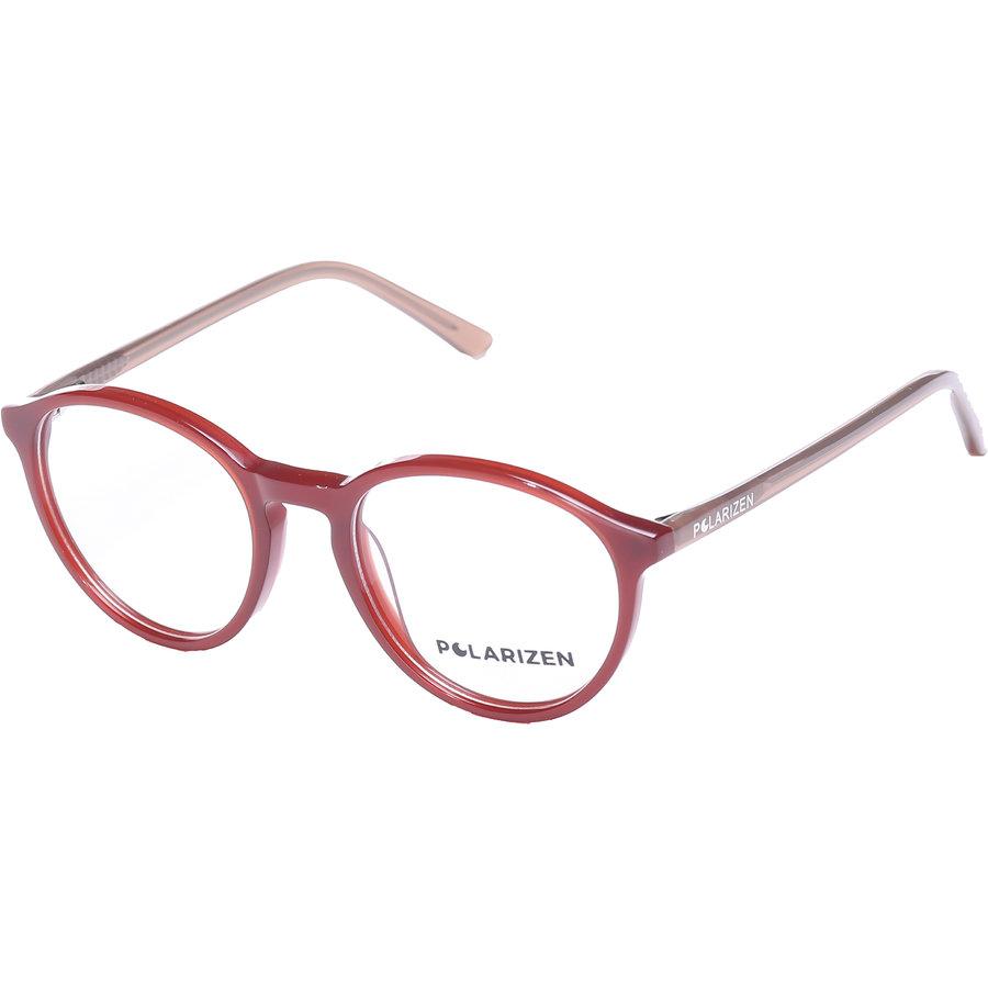 Rame ochelari de vedere dama Polarizen WD1098 C2 Rotunde originale cu comanda online