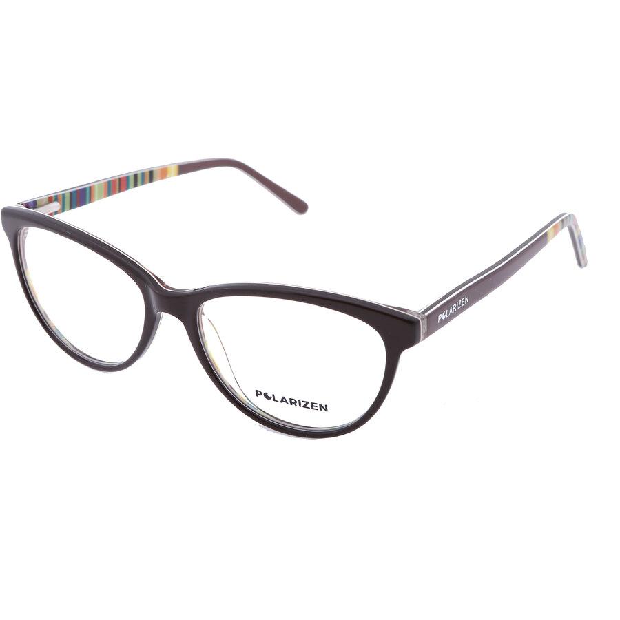 Rame ochelari de vedere dama Polarizen WD2089 C3 Ochi de pisica originale cu comanda online
